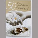 Billette Hochzeit Gold