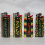 FZ Bic Mini bedruckt Reggae