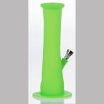 Bong Silikon 22cm grün