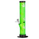 Bong Acryl Flamme grün 32cm