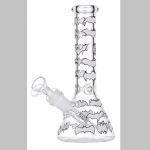 Bong Glas Hanfblatt 22cm