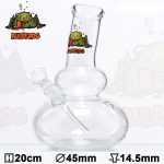 Bong Glas Grafik 43cm