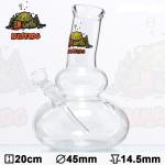 Bong Glas Greenline 43cm