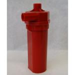 Pfeife Batteriebetrieben 13cm rot