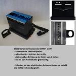Ofen Toaster f. Wasserpfeifenkohle 600W, 230V