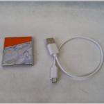 FZ SM USB Marble orange m.Kabel 4,5x5x0,5cm