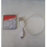 FZ SM USB Marble lachs m.Kabel 4,5x5x0,5cm