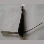 Pfeifenbesteck Delphin Edelholz grün