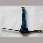 Pfeifenbesteck Stein blau