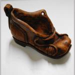 Pfeifenständer Holz Schuh