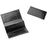 Drehertasche Leder schwarz 15x8cm