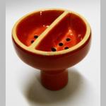Wasserpfeifenkopf Keramik Duo rot