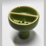 Wasserpfeifenkopf Keramik Duo grün