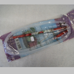 Schlauch f. WP Plastik klar/rot 1,2m