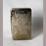 Tabakdose Metall 6x9,5cm