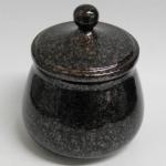 Tabaktopf Kupfer Granit 12x8cm
