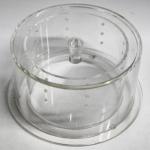 Tabaktopf Acryl mit Wasserkammer 15cm