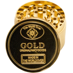 Grinder Metall gold 3tlg 50mm