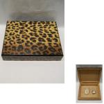 Humidor  Gepard klein 27,5x20cm
