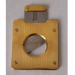 Zig.Abschneider rostfr. vergoldet 1,5cm