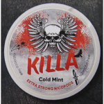 Lutschsäckchen mit Nikotin Killa Cold Mint 10g ab 18Jahre, 16mg
