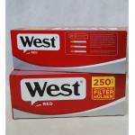 Zig. Hülsen West rot KS langer Filter 250er