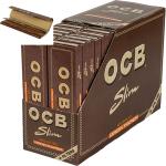 OCB Unbleached KS+Filtertips