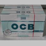 Zig. Hülsen OCB Menthol 100er