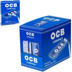 Filter OCB Extra Slim + Papier 50 Blatt blau