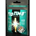 Filter Tip Time Menthol Click 60er +2Halterungen +1Adapter für Slim Zigaretten