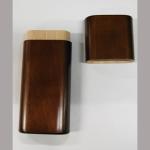 Zig.Etui Holz Wal 7x19cm 3er