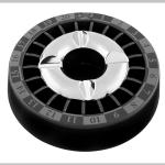 Glutausascher schwarz 13,5cm