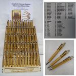 Kugelschreiber Boder sortiert