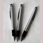 Kugelschreiber Pointer silber