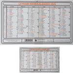 Wandkalender A5 ka710