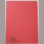 Aktenumschlag Karton A4 rot