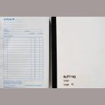 Auftragsbuch KB A5 SD 3fach