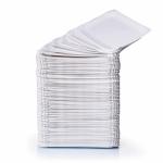 Pappteller weiß 18x33cm