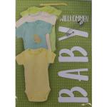 Offsettragtasche A4 Baby Grün 26x32cm