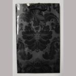 Offsettragtasche A6 12x19cm Ornament schwarz