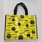 Shopping Bag Smiley A3 quer kl. Gesicht