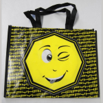 Shopping Bag Smiley A3 quer gr. Gesicht