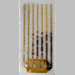 Cellosäcke mit Goldstreifen 140x305mm