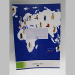 Hefte Terra-Plus A4 20Blatt liniert mit Rand