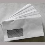 Kuvert weiß lang Fenster 114x229mm 100er