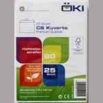 Kuvert C6 weiß SK 114x162mm  25er