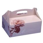 Tortenkarton Rose 20x13x9cm 20er