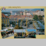 Karten Ansicht Graz Jakominiplatz 10x15cm