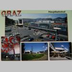 Karten Ansicht Graz Hauptbahnhof 10x15cm