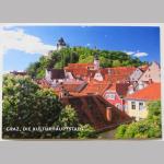 Karten Ansicht Graz Dächerlandschaft